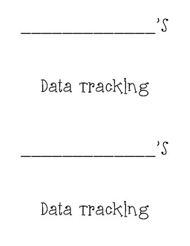 3rd Grade Student Data Tracking