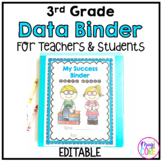 3rd Grade Data Binder Notebook for Teachers & Students