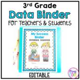 3rd Grade Data Binder Notebook for Teachers & Students