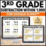 3rd Grade Subtraction Within 1,000 Digital Practice {3.NBT