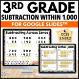 3rd Grade Subtraction Within 1,000 Digital Practice {3.NBT