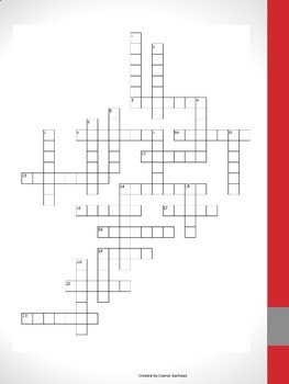3rd Grade Suffix Crossword Puzzle