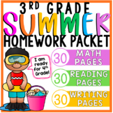 3rd Grade Summer Packet (for Rising 4th Graders)   Distance Learning