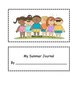Summer Spiral Review Journal- 3rd Going to 4th