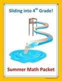 3rd Grade Summer Math Packet (Common Core Aligned)