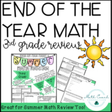 3rd Grade End Of The Year Math Review
