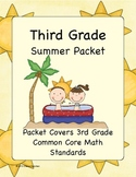 3rd Grade Summer Math Workbook- Common Core Aligned- Top S