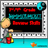 3rd Grade Summer Packet - Math and E.L.A. Review Skills