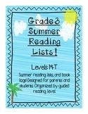3rd Grade Summer Reading Lists