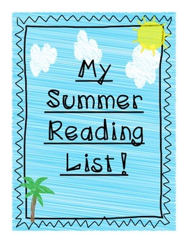 3rd Grade Summer Reading Lists