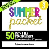 3rd Grade Summer Packet