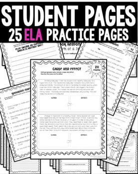 3rd Grade Summer Packet