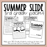 3rd Grade Summer Slide Packet