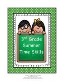 3rd Grade Summer Time Skills
