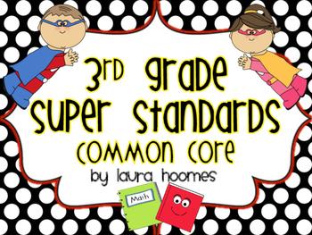 3rd Grade Super Standards COMMON CORE