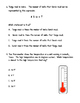 3rd Grade TEK - Mixed Assessment #3  TEK ALIGNED!