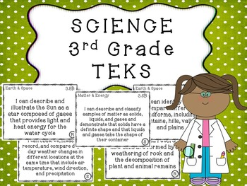 3rd Grade TEKS BUNDLE All Subjects
