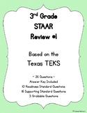 3rd Grade TEKS Based STAAR Review #1