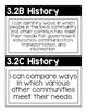 "3rd Grade TEKS ""I Can"" Posters Black/White- Social Studies"