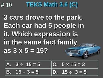 3rd Grade TEKS Math 3.6(C) Identify patterns in multiplication/division