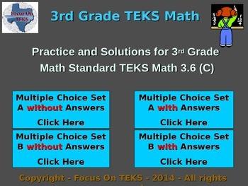 3rd Grade TEKS Math 3.6(C) Identify patterns in multiplica