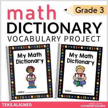 3rd Grade My Math Dictionary & Teacher Tools TEKS Aligned