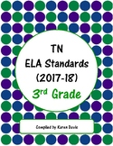 3rd Grade TN ELA Standards (2017-18)
