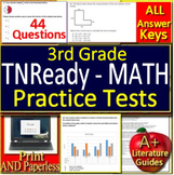 3rd Grade TNReady Test Prep Math Practice Assessments - Tennessee State Test