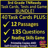 3rd Grade TNReady Test Prep ELA Reading SELF-GRADING GOOGLE FORMS TCAP TN Ready