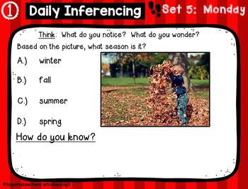 3rd Grade TX Tornado Daily Reading Spiral Review PART 1 Google & Paper Version