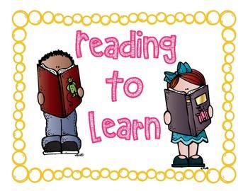 3rd Grade: Teacher's College READING Unit Signs