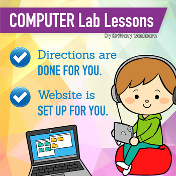 3rd Grade Technology Lesson Plans and Activities 1 Year Subscription