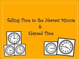 3rd Grade Telling Time & Elapsed Time Promethean / ClassFlow CCSS 3.MD.1