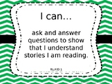 """3rd Grade Tennessee Revised Standards """"I Can"""" Posters"""