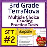 3rd Grade TerraNova Test Prep - Reading ELA Practice Tests Bundle Terra Nova
