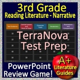 3rd Grade TerraNova Test Prep Reading Literature Review Game Terra Nova