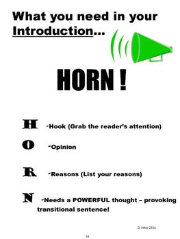 3rd Grade Test Prep For Opinion & Informative Writing Program