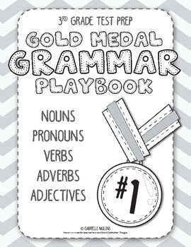 3rd Grade Test Prep - Gold Medal Grammar Playbook