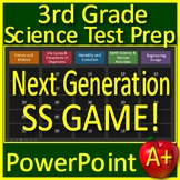 3rd Grade Science Test Prep Game Review NGSS Units Google Ready Jeopardy Style