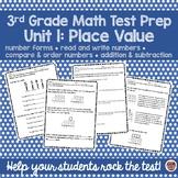 3rd Grade Test Prep -Unit 1 Place Value