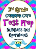3rd Grade Test Prep for the Common Core ~ Numbers and Operations