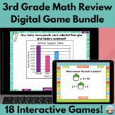 3rd Grade Math Test Preparation Digital Game Mega Bundle