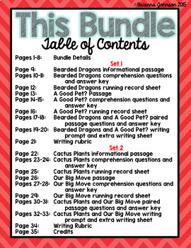 3rd Grade Text to Text Reading and Writing Bundle {Paired Passages}