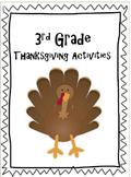 3rd Grade Thanksgiving Activities