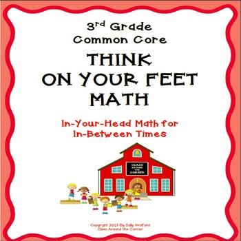 "3rd Grade Fluency ""Think on Your Feet"" Math"