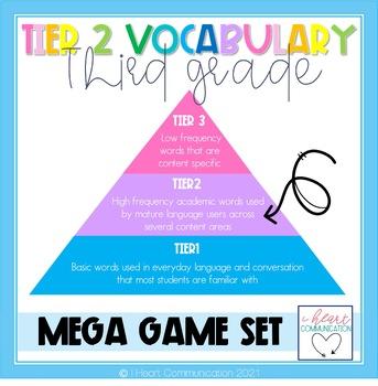 3rd Grade Tier Two Vocabulary Mega Game Set