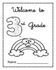 3rd Grade Time Capsule Beginning/End of Year Activity + BONUS Ice Breaker PDF