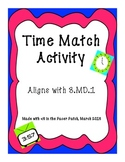 3rd Grade Time Match Game