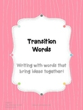 3rd Grade Transition Words Writing Unit