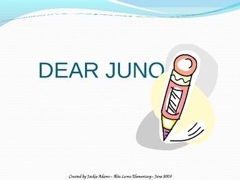 """3rd Grade Treasures """"Dear Juno"""" Introductory PowerPoint"""